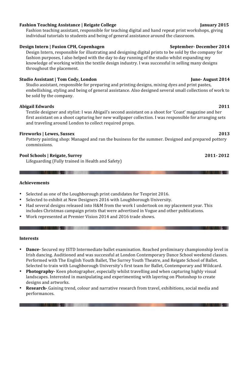 Microsoft Word - CV- Ruth Connolly.docx